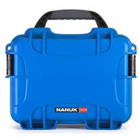 Image of Nanuk Small Series 904 Lightweight NK-7 Resin Waterproof Protective Case for Mirrorless Camera or 2-Way Radio, Blue