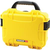 Image of Nanuk Small Series 904 Lightweight NK-7 Resin Waterproof Protective Case with Foam for Mirrorless Camera or 2-Way Radio, Yellow
