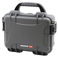 Compare Prices Of  Nanuk Small Series 904 Lightweight NK-7 Resin Waterproof Protective Case with Foam for Mirrorless Camera or 2-Way Radio, Graphite