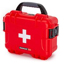 Image of Nanuk Outdoor Series 904 Waterproof First Aid Case, Red