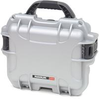 Image of Nanuk Small Series 905 Lightweight NK-7 Resin Waterproof Protective Case with Padded Dividers for Point & Shoot Camera or Binoculars, Silver