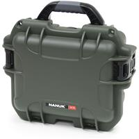 Image of Nanuk Small Series 905 Lightweight NK-7 Resin Waterproof Protective Case with Padded Dividers for Point & Shoot Camera or Binoculars, Olive