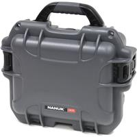 Image of Nanuk Small Series 905 Lightweight NK-7 Resin Waterproof Protective Case with Padded Dividers for Point & Shoot Camera or Binoculars, Graphite