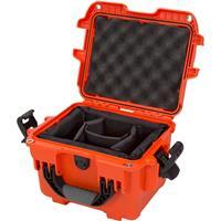 Image of Nanuk 908 Case with Padded Dividers, Orange