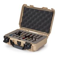 Image of Nanuk Outdoor Series 909 Lightweight NK-7 Resin Waterproof Protective Case with Foam Insert for 8 Knives, Tan