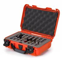 Image of Nanuk Outdoor Series 909 Lightweight NK-7 Resin Waterproof Protective Case with Foam Insert for 8 Knives, Orange