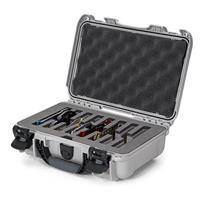 Image of Nanuk Outdoor Series 909 Lightweight NK-7 Resin Waterproof Protective Case with Foam Insert for 8 Knives, Silver