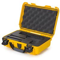 Image of Nanuk 909 Classic Pistol Case, Holds Pistol and Two Single Stack or One Double Stack Magazines, Yellow