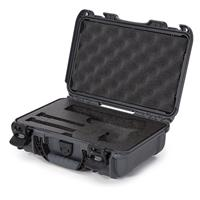 Image of Nanuk 909 Classic Pistol Case, Holds Pistol and Two Single Stack or One Double Stack Magazines, Graphite