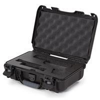 Image of Nanuk 909 Glock Pistol Case, Holds Most Glock Pistols and Two Magazines, Black