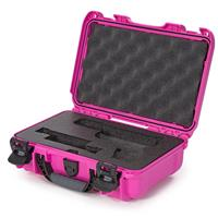Image of Nanuk 909 Glock Pistol Case, Holds Most Glock Pistols and Two Magazines, Pink