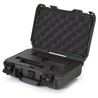 Image of Nanuk 909 Glock Pistol Case, Holds Most Glock Pistols and Two Magazines, Olive