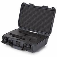Image of Nanuk 909 Glock Pistol Case, Holds Most Glock Pistols and Two Magazines, Graphite