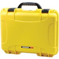 Image of Nanuk Medium Series 910 Lightweight NK-7 Resin Waterproof Protective Case for Camcorder or Mirrorless Camera Kit, Yellow