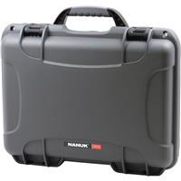 Image of Nanuk Medium Series 910 Lightweight NK-7 Resin Waterproof Protective Case for Camcorder or Mirrorless Camera Kit, Graphite