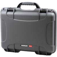 Image of Nanuk Medium Series 910 Lightweight NK-7 Resin Waterproof Protective Case with Foam for Camcorder or Mirrorless Camera Kit, Graphite