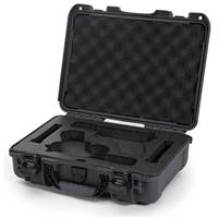Image of Nanuk 910 2Up Glock Pistol Case, Holds Two Glock Pistols and Two Magazines, Graphite