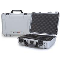 Image of Nanuk 910 Lightweight NK-7 Resin Waterproof Protective Case with Foam Insert for DJI Osmo Series Cameras, Silver