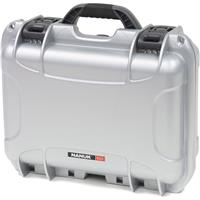 Image of Nanuk Medium Series 915 Lightweight NK-7 Resin Waterproof Protective Case with Padded Dividers, Silver