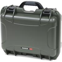 Image of Nanuk Medium Series 915 Lightweight NK-7 Resin Waterproof Protective Case with Padded Dividers, Olive