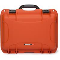Image of Nanuk 918 Lightweight NK-7 Resin Waterproof Protective Case With Padded Divider, Orange