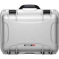 Image of Nanuk 918 Lightweight NK-7 Resin Waterproof Protective Case With Padded Divider, Silver
