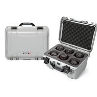 Compare Prices Of  Nanuk Medium Series 918 Lightweight NK-7 Resin Waterproof Protective Case with Foam Insert for 6 Camera Lens, Silver