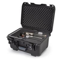 """Image of Nanuk Firearms Series 918 Waterproof Protective Case with Foam Insert for 3 Revolvers with up to 8"""" Barrels, Black"""