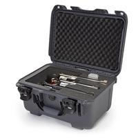 """Image of Nanuk Firearms Series 918 Waterproof Protective Case with Foam Insert for 3 Revolvers with up to 8"""" Barrels, Graphite"""