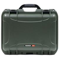 Image of Nanuk Medium Series 920 Lightweight NK-7 Resin Waterproof Protective Case with Padded Dividers, Olive