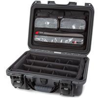 Image of Nanuk Nanuk Medium Series 920 Lightweight NK-7 Resin Waterproof Hard Case with Lid Organizer and Padded Dividers, Graphite