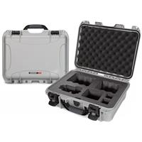 Image of Nanuk Media Series 920 Lightweight NK-7 Resin Waterproof Hard Case with Foam Insert for Sony A7R Camera, Silver