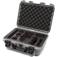 Image of Nanuk 920 Hard-Shell Carrying Case with Foam Insert for DJI Mavic 2 Pro and Zoom, Silver