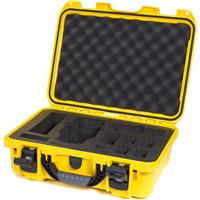 Image of Nanuk 920 Waterproof Hard Case with Foam Insert for DJI Mavic Quadcopter and Accessories, Yellow