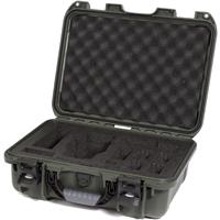 Image of Nanuk 920 Waterproof Hard Case with Foam Insert for DJI Mavic Quadcopter and Accessories, Olive