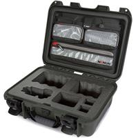 Image of Nanuk Media Series 920 Lightweight NK-7 Resin Waterproof Hard Case for Sony A7R Camera, Olive