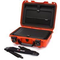 """Image of Nanuk 923 Hard Case with Sleeve & Shoulder Strap for 15"""" Laptop, Orange"""