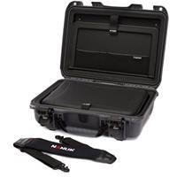 "Image of Nanuk 923 Hard Case with Sleeve & Shoulder Strap for 15"" Laptop, Graphite"