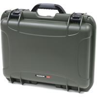 Image of Nanuk Large Series 925 Lightweight NK-7 Resin Waterproof Protective Case with Padded Dividers, Olive