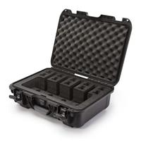 Image of Nanuk 925 4 UP Pistol Case with Foam Insert, Black