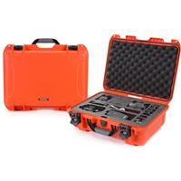 Image of Nanuk Media Series 925 Lightweight NK-7 Resin Waterproof Hard Case with Foam Insert for Canon and Nikon DSLR Cameras, Orange