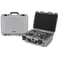 Image of Nanuk Media Series 925 Lightweight NK-7 Resin Waterproof Hard Case with Foam Insert for Canon and Nikon DSLR Cameras, Silver