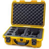 Image of Nanuk Media Series 925 Lightweight NK-7 Resin Waterproof Hard Case for DJI Mavic 2 Pro/Zoom + Smart Controller, Yellow