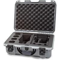 Image of Nanuk Media Series 925 Lightweight NK-7 Resin Waterproof Hard Case for DJI Mavic 2 Pro/Zoom + Smart Controller, Silver