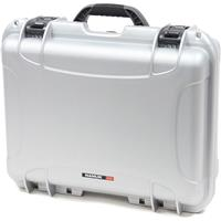 Image of Nanuk Large Series 930 Lightweight NK-7 Resin Waterproof Protective Case with Padded Dividers, Silver