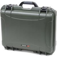 Image of Nanuk Large Series 930 Lightweight NK-7 Resin Waterproof Protective Case with Padded Dividers, Olive