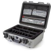 Compare Prices Of  Nanuk Large Series 930 Lightweight NK-7 Resin Waterproof Hard Case with Lid Organizer and Padded Dividers, Silver