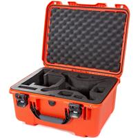 Image of Nanuk 933 Hard-Shell Carrying Case with Foam Insert for DJI Phantom 4, 4 Pro, 4 Pro+, 4 Pro+ 2.0 and 4 RTK, Orange