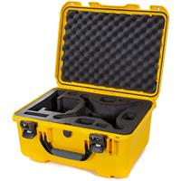Image of Nanuk 933 Hard-Shell Carrying Case with Foam Insert for DJI Phantom 4, 4 Pro, 4 Pro+, 4 Pro+ 2.0 and 4 RTK, Yellow