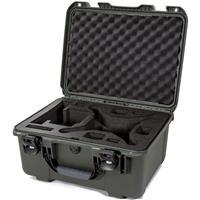 Image of Nanuk 933 Hard-Shell Carrying Case with Foam Insert for DJI Phantom 4, 4 Pro, 4 Pro+, 4 Pro+ 2.0 and 4 RTK, Olive
